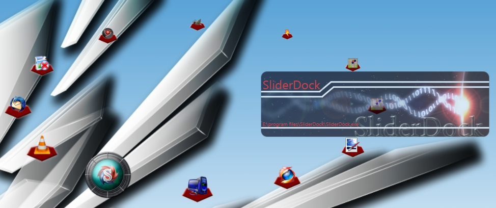 SliderDock screenshot
